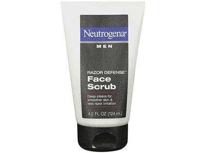 Neutrogena Men Razor Defense Face Scrub, Johnson & Johnson - Image 5