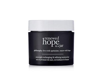Philosophy Renewed Hope in a Jar Night Cream, 2 OZ