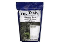 Dr Teal's Pure Epsom Salt Soaking Solution, Relax & Relief with Eucalyptus & Spearmint, 3 lbs - Image 2