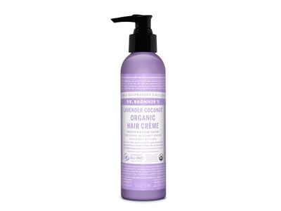 Dr. Bronner's Magic Organic Hair Creme, Lavender Coconut, 6 fl oz