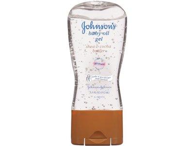 Johnson's Baby Oil Gel, Shea & Cocoa Butter, 6.5 fl oz