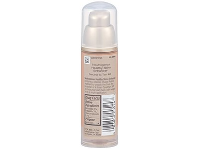 Neutrogena Healthy Skin Enhancer Broad Spectrum SPF 20, Johnson & Johnson - Image 4