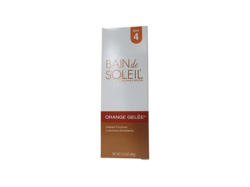 Bain de Soleil Orange Gelee Sunscreen, SPF 4, 3.12-Ounce Tube (Pack of 2)