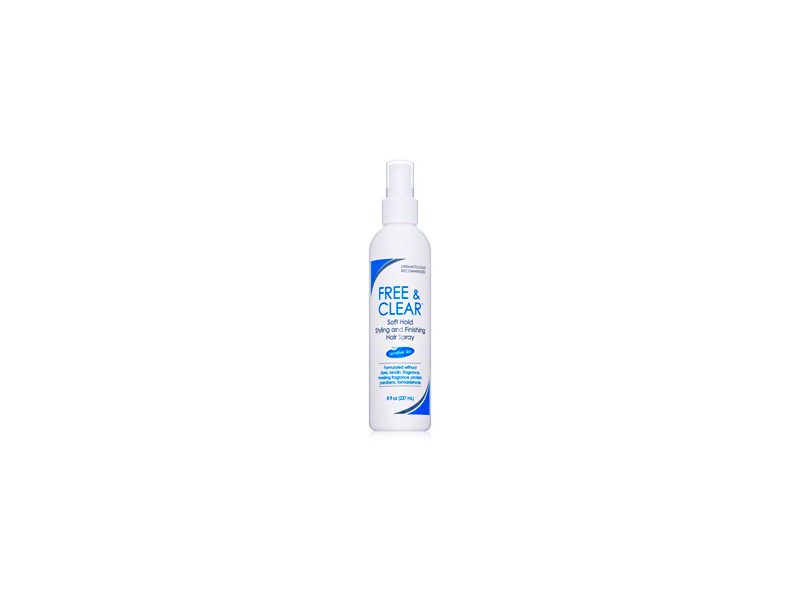Free & Clear Hair Spray - Soft Hold, Pharmaceutical Specialties, Inc.