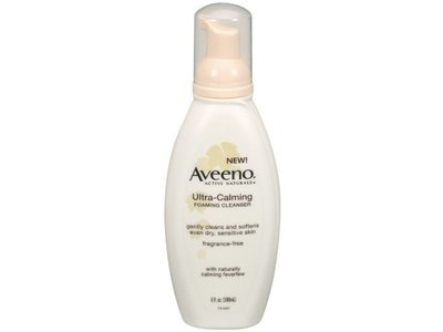 Aveeno Ultra-Calming Foaming Cleanser, johnson & johnson - Image 1