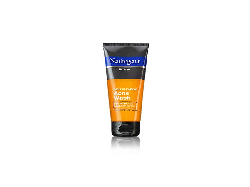 Neutrogena Men Skin Clearing Acne Wash, Johnson & Johnson
