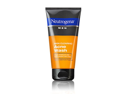 Neutrogena Men Skin Clearing Acne Wash, Johnson & Johnson - Image 1