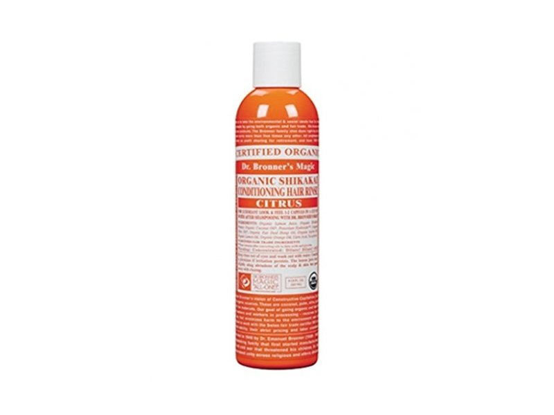 Dr. Bronner's Citrus Hair Conditioning Rinse, 8 fl oz