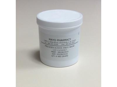 Mayo's Preservative Free Cream Base, Mayo Pharmacy - Image 1