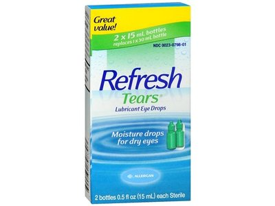 Allergan Refresh Tears With Extra 5ml 4 ct 15 ml - Image 1