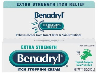 Benadryl Extra Strength Itch Stopping Cream, 1 oz - Image 1