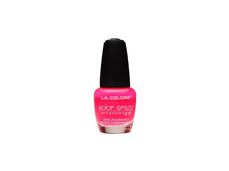 L.A. Colors Color Craze Nail Polish, Frill, 0.44 fl oz Ingredients ...