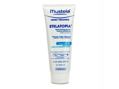 Mustela Stelatopia Moisturizing Cream 200ml/6.7oz - Image 3