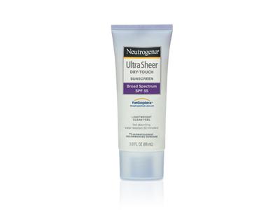 Neutrogena Ultra Sheer Dry-touch Sunscreen Broad Spectrum SPF-55, Johnson & Johnson - Image 1