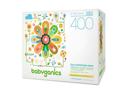 Babyganics Face Hand Amp Baby Wipes Fragrance Free 400