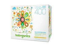 Babyganics Face, Hand & Baby Wipes, Fragrance Free, 400 Count - Image 2