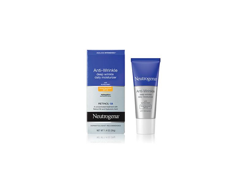 Neutrogena Ageless Intensives Anti-wrinkle Deep Wrinkle Daily Moisturizer SPF 20, Johnson & Johnson