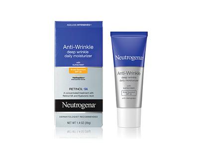 Neutrogena Ageless Intensives Anti-wrinkle Deep Wrinkle Daily Moisturizer SPF 20, Johnson & Johnson - Image 1