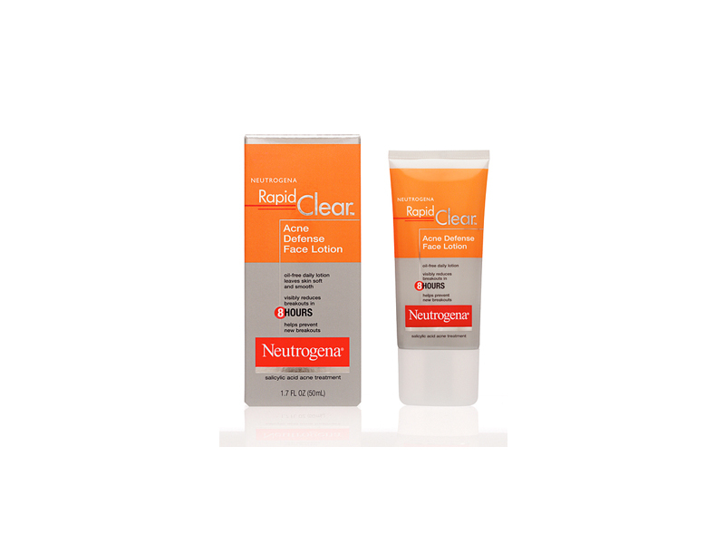 Neutrogena Rapid Clear Acne Defense Face Lotion, Johnson & Johnson