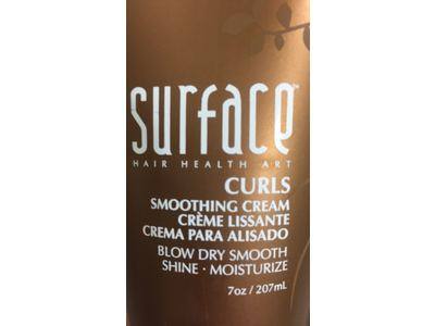 Surface Curls Smoothing Cream