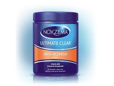 Noxzema Ultimate Clear Anti-Blemish Pads, 90 pads