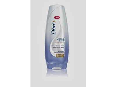 Dove Visible Care Creme Body Wash, Radiance - Image 1