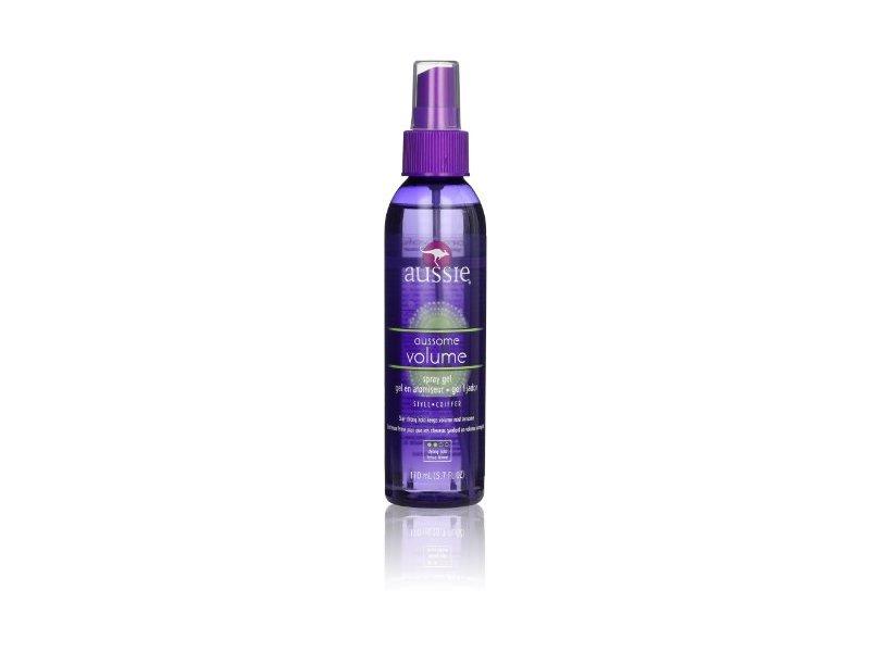Aussie Aussome Volume Spray Hair Gel 5.7 Fl Oz