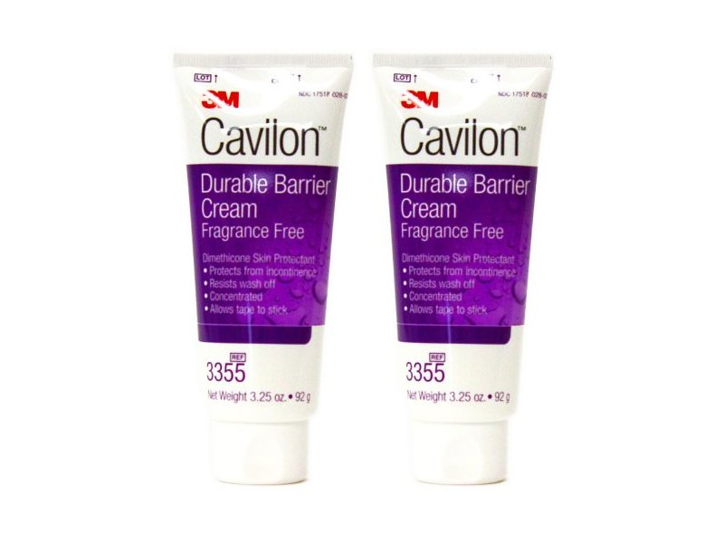 3M Cavilon Durable Barrier Cream, Fragrance Free, 3.25 oz, (Pack of 2)