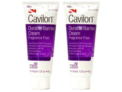 3M Cavilon Durable Barrier Cream, Fragrance Free, 3.25 oz, (Pack of 2) - Image 1