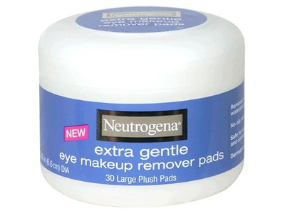 Neutrogena Eye Makeup Remover Large Plush Pads, Extra Gentle, 30 Count (Pack of 2) - Image 3