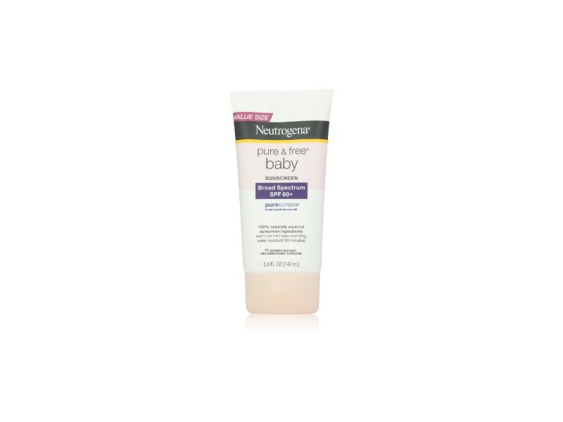 Neutrogena Pure and Free Baby Sunscreen Spf 50+