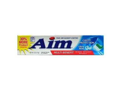 AIM Cavity Protection Gel Toothpaste - 6 oz - Mint