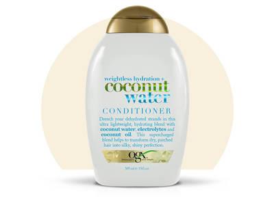 OGX Weightless Hydration+Coconut Water Conditioner, 13 fl oz