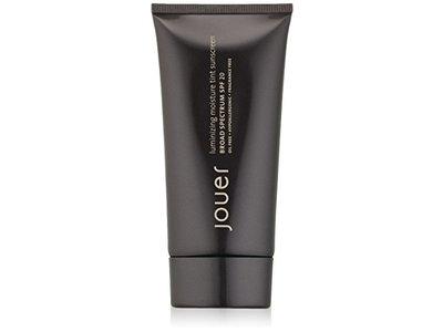 Jouer Luminizing Moisture Tint Sunscreen, Broad-Spectrum SPF 20, Caramel,1.7 Fl.oz