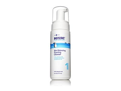 Benzac Skin Balancing Foaming Cleanser, 6 Ounce - Image 1