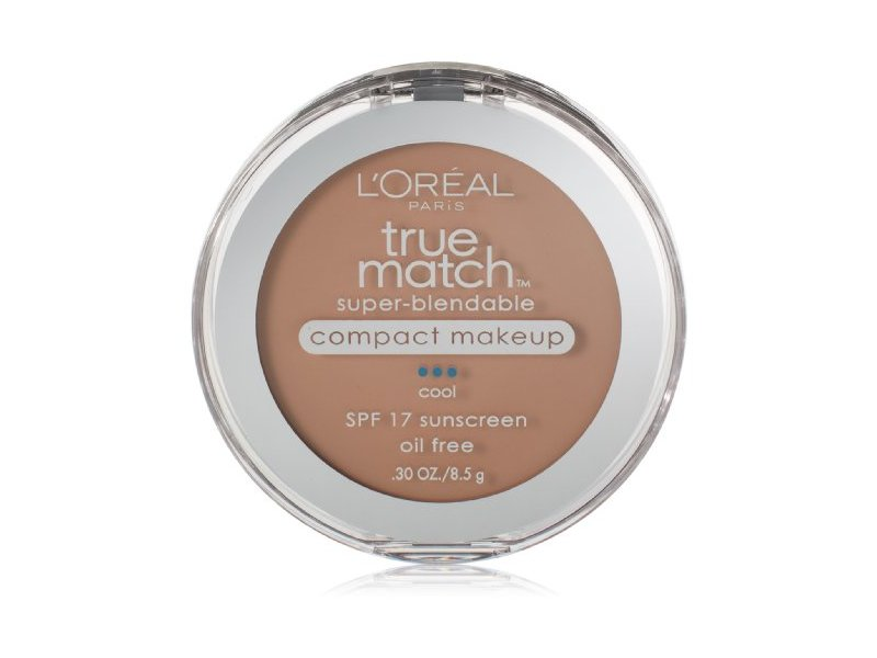 L'Oreal Paris True Match Super-Blendable Compact Makeup, Classic Beige
