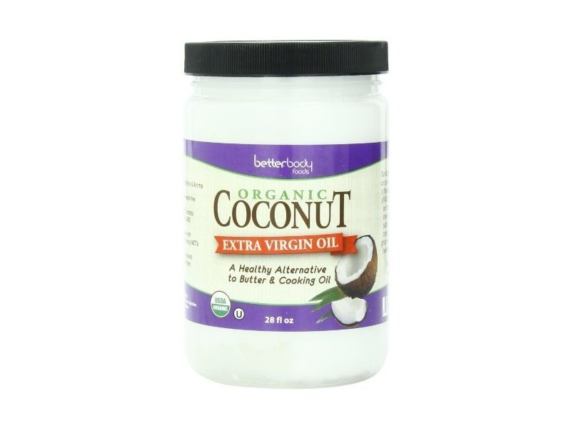 BetterBody Foods Organic Coconut Extra Virgin Oil, 28 fl oz (2 Pack)