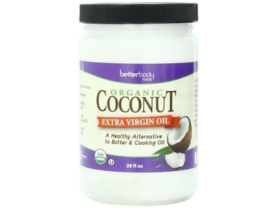 BetterBody Foods Organic Coconut Extra Virgin Oil, 28 fl oz (2 Pack)