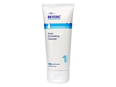 Benzac Acne Eliminating Cleanser, 6 Fluid Ounce - Image 1