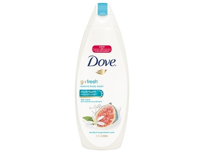 Dove Restore Body Wash, Blue Figs & Orange Blossom - Image 1