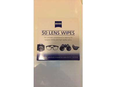 Zeiss Pre-Moistened Lens Cleaning Wipes, 600 Count - Image 6