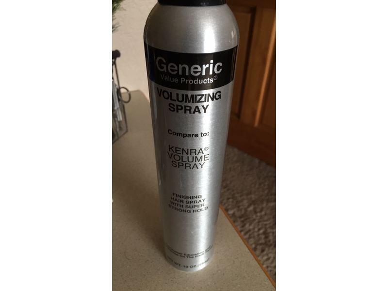 Generic Value Products® Volumizing Spray Finishing Hairspray