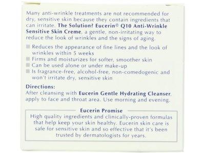 Eucerin Q10 Anti-wrinkle Sensitive Skin Creme, Beiersdorf, Inc. - Image 1