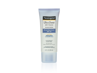 Neutrogena Ultra Sheer Dry-touch Sunscreen Broad Spectrum SPF-45, Johnson & Johnson - Image 1