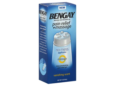 Bengay Pain Relief + Massage Gel, johnson & johnson - Image 1