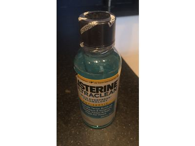 Listerine Ultraclean Mouthwash, Artic Mint, 3.21 OZ (Pack of 3) - Image 3
