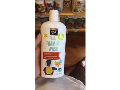 365 Everyday Value Baby Foaming Wash, 10 fl oz - Image 3