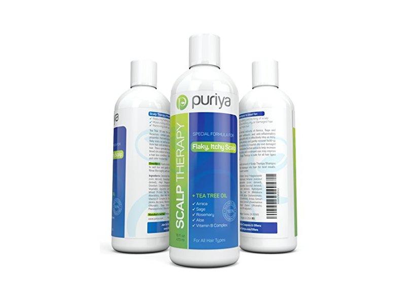 Puriya Scalp Therapy with Tea Tree Oil, 16 fl oz