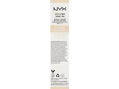 NYX BB Cream, Nude, 1 fl oz - Image 3