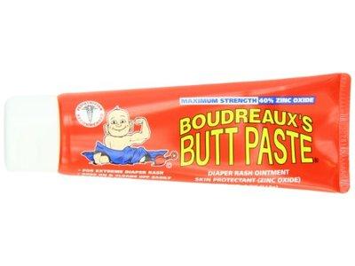 Boudreaux's Butt Paste Diaper Rash Ointment, Maximum Strength, 4 Ounce